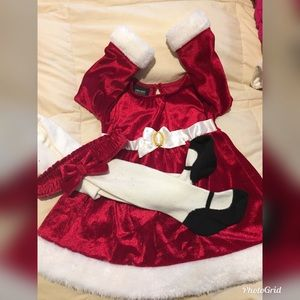 Christmas dress for babygirl